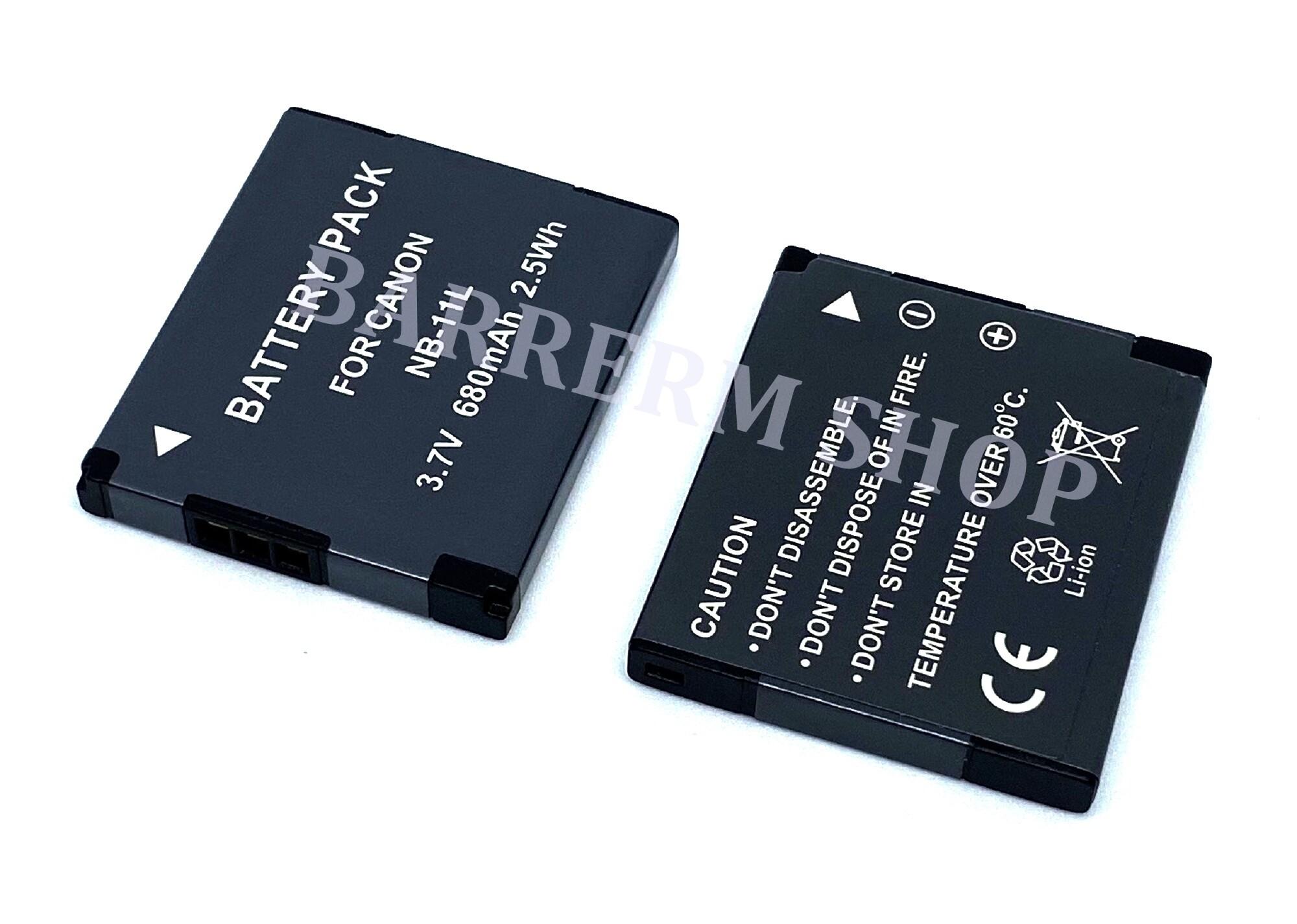 Batterie 680mAh type NB-11L NB-11LH NB11L NB11LH Pour Canon Digital IXUS 180