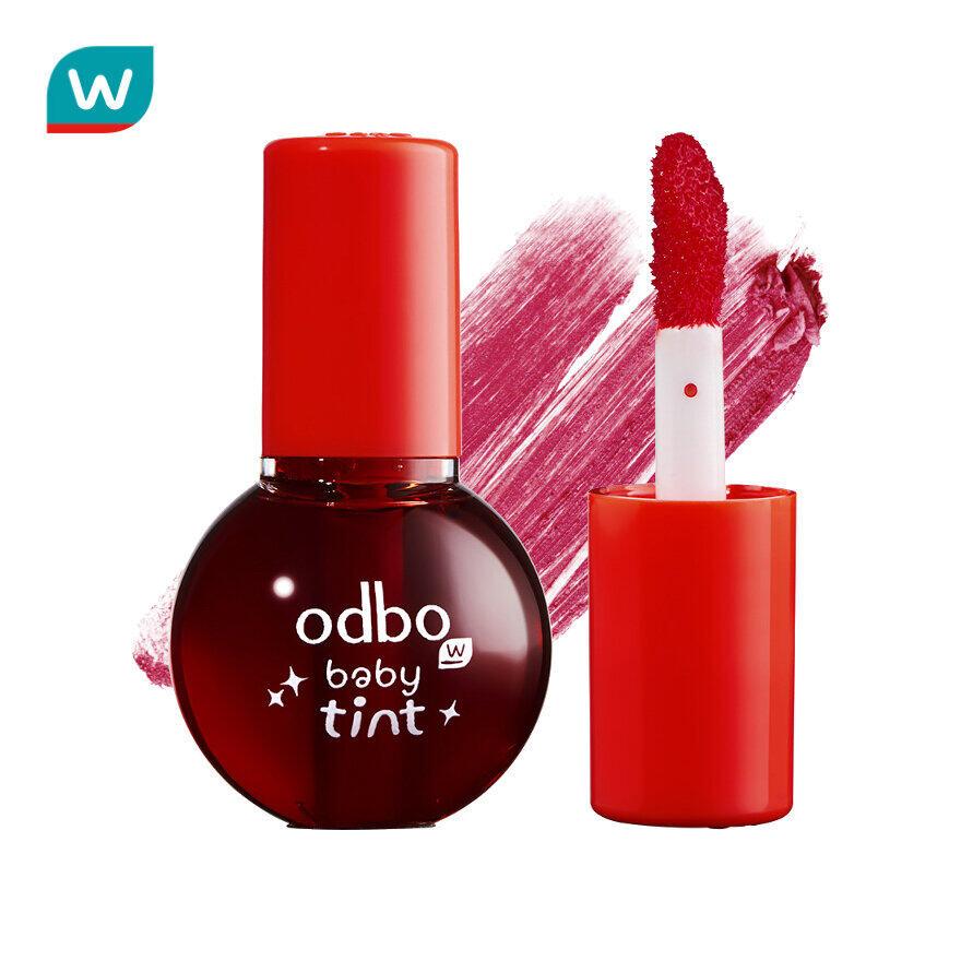 Odbo โอดีบีโอ เบบี้ ทินท์ 2มล. #01 แดง