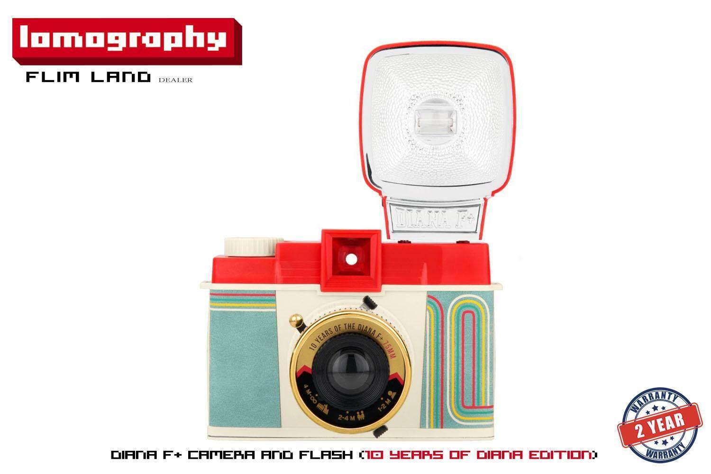 กล้องโลโม่ กล้องฟีล์ม Lomo Diana F+ Camera And Flash (10 Years Of Diana Edition) [พร้อมส่งรับสินค้าภายใน3วัน ].