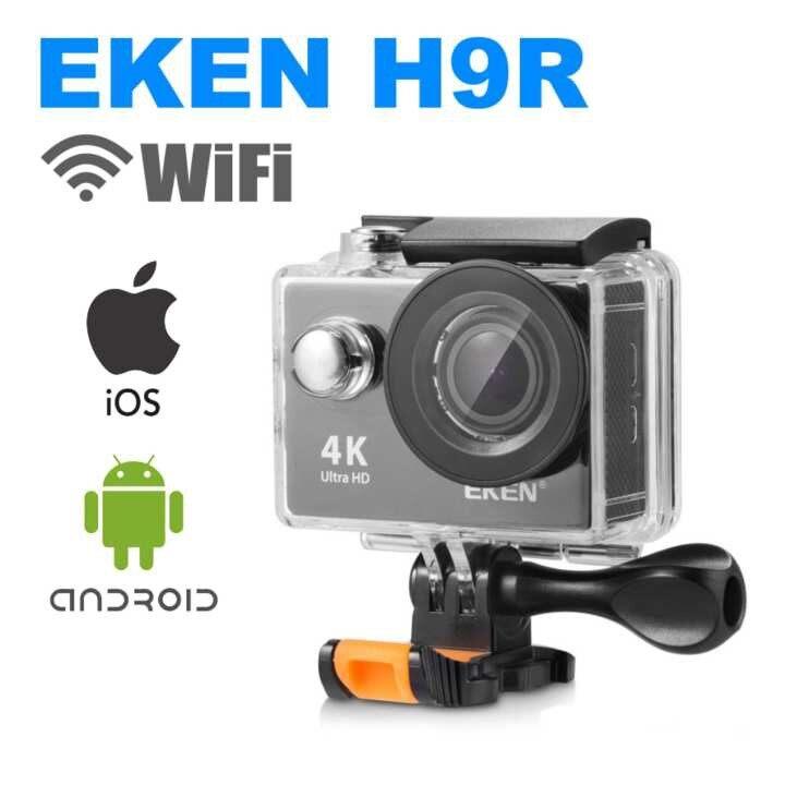 Sport Action Cam Camera Recorder กล้องกันน้ำ 4k Eken H9r กล้องวีดีโอ Action Camera แท้ 100%.