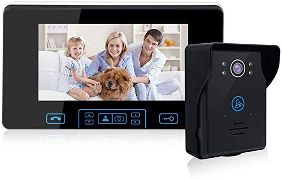 Manufactory 2.4ghz Digital Wireless Intercom Video Door Phone Ts-Wp708 Long Range Wireless Doorbell.
