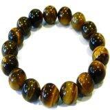 ซื้อ Natty Gems สร้อยข้อมือ ตาเสือ Tiger Eye Stone สีเหลือง คุณภาพดี สีสวย ขนาด 10 Mm