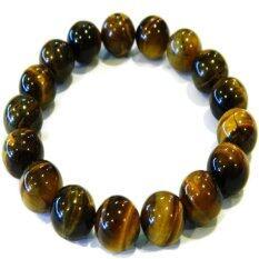 ราคา Natty Gems สร้อยข้อมือ ตาเสือ Tiger Eye Stone สีเหลือง คุณภาพดี สีสวย ขนาด 10 Mm Natty Gems เป็นต้นฉบับ