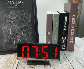 นาฬิกาดิจิตอล LED ตั้งโต๊ะ ตั้งปลุกได้ รุ่น 3618L-