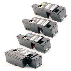 Lasuprint Fuji Xerox Toner Docuprint Cp105B Cp205 Cp205W Cm205B Cm205Fw Cp215W Cm215Fw แพ็ค 4 สี ตลับหมึกเลเซอร์ B C M Y Lasuprint ถูก ใน กรุงเทพมหานคร