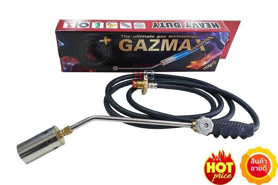 Gazmax รุ่นGMGT-15 หัวพ่นไฟ,พ่นหัวหมู,พ่นขาหมู