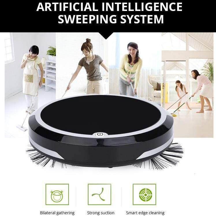 ราคาของ  หุ่นยนต์ดูดฝุ่น ถูพื้น แบตเยอะ 1800mAh แถมฟรี ผ้าไมโครไฟเบอร์ 2 ผืน By DigilifeGadget รุ่นใหม่ล่าสุด