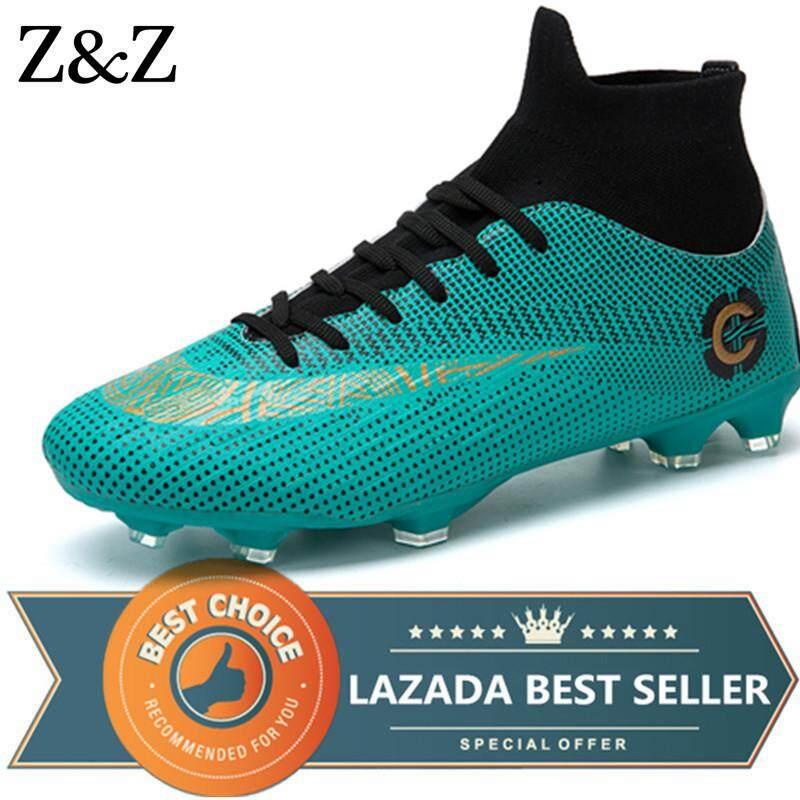 fc3936ff5 Z Z Pria Sepatu Sepakbola Anak Laki-laki Sepatu Sepak Bola Luar Ruangan  Pecinta Olahraga Sneakers