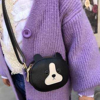 Mireille สัตว์น่ารักเด็กสาวกระเป๋าถือหนังกระเป๋าสะพาย MINI กระเป๋าเอกสาร-