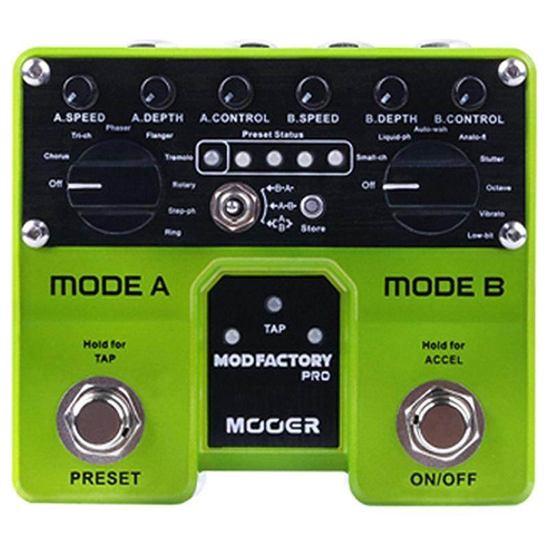 MOOER Mod Factory Pro 2 Independent Processing Modules Containing A Total Of 16 Modulation Effects Guitar Pedal Malaysia