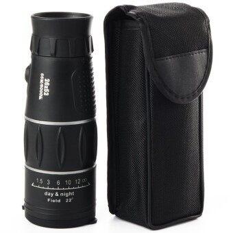 26x52mm Dual Focus Zoom Optic Lens Armoring Travel Monocular Telescope