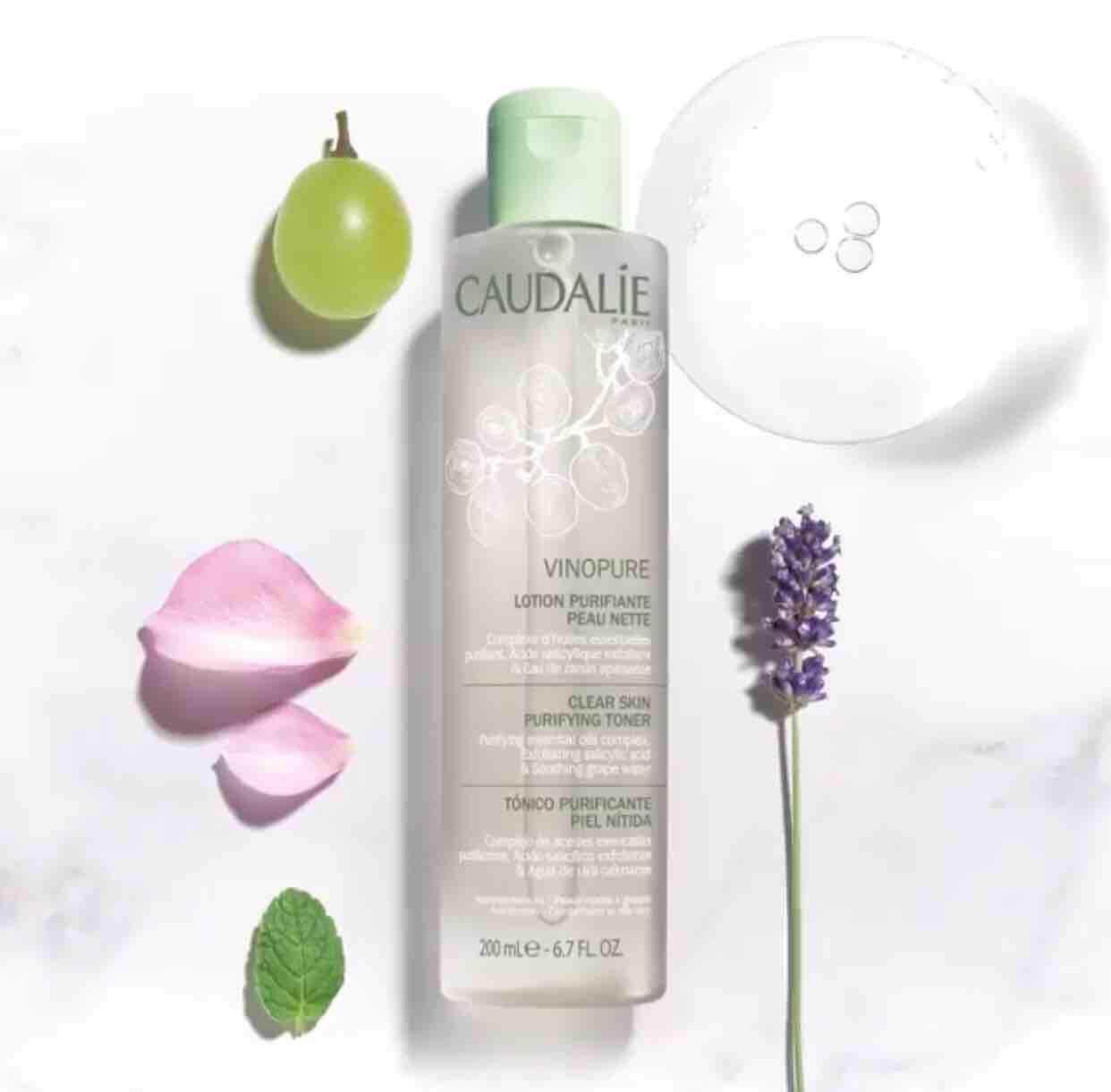 Caudalie Vinopure Clear Skin Purifying Toner 200 Ml..
