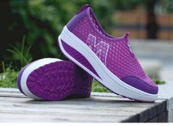 Gadine รองเท้าผ้าใบผู้หญิง สไตล์เกาหลี สวมใสง่ายสบาย เสริมส้นสูง NO.A064-