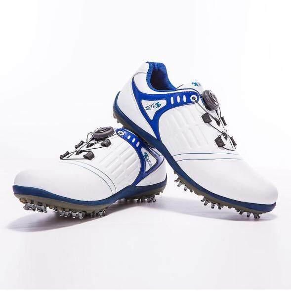 Báo Đốm Mỹ Mẫu Mới!!! Golf Giày Đá Bóng Chống Trượt Giầy Nam Xoay Ren Siêu Chống Nước Nam Vận Động Giày giá rẻ