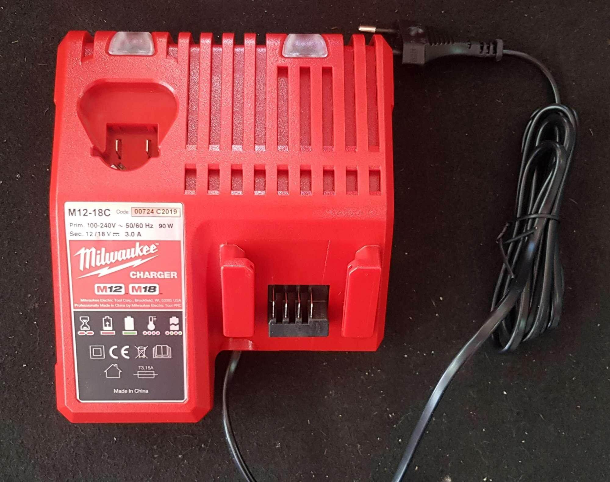 Charger Milwaukee M18 และ M12
