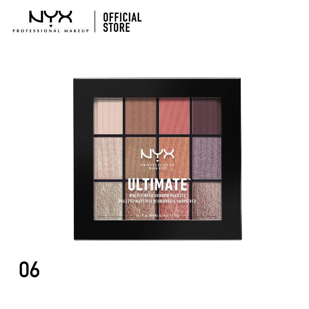 อายแชโดว์พาเลทสุดคุ้ม นิกซ์ โปรเฟสชั่นแนล เมคอัพ อัลติเมท แชโดว์ พาเลท NYX Professional Makeup Ultimate Shadow Palette - USP06 (อายแชโดว์)