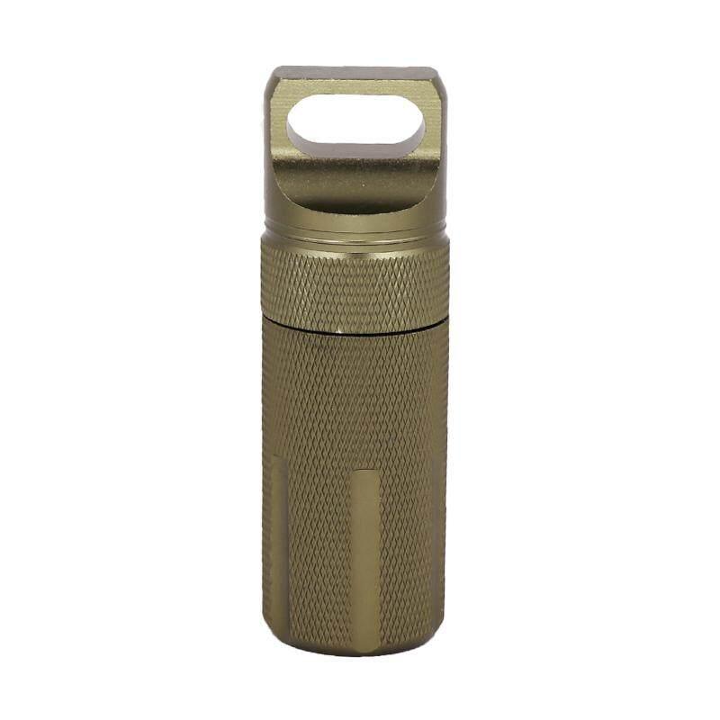 Outdoor Case Storage Container Capsule Seal Bottle Box Tank EDC Survival