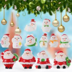 Quà Tặng Nhỏ Cảnh Quan Vi Mô Khu Vườn Cổ Tích Trang Trí Nhà Ông Già Noel Người Tuyết Thu Nhỏ Giáng Sinh Bức Tượng Nhỏ Cây Giáng Sinh