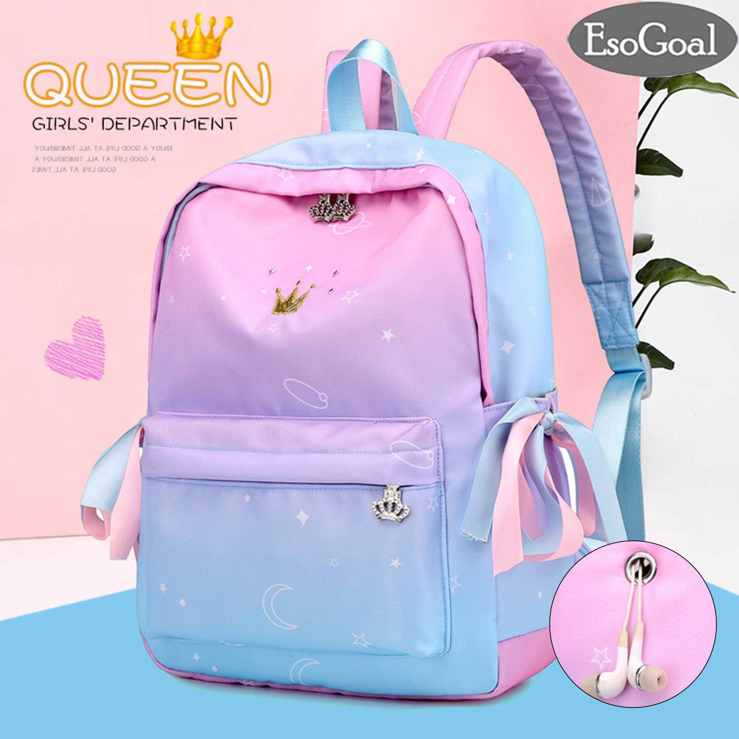 c8b62a35fe8c EsoGoal School Shoulder Bag Women Backpacks Orthopedic College School  Bookbag Laptop Computer Backpacks for Students Boys Girls Waterproof Nylon  ...