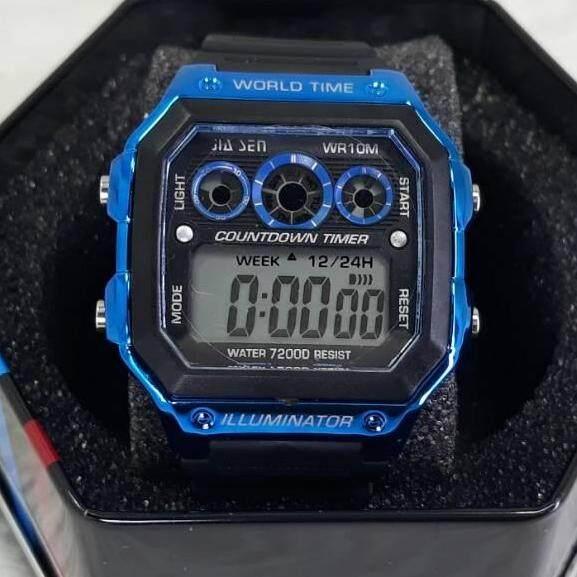 นาฬิกาแฟชั่นทรงสปอร์ต 004 By E Fast It.