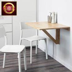 โต๊ะพับยึดผนัง, ไม้เบิร์ช,79x59 ซม.