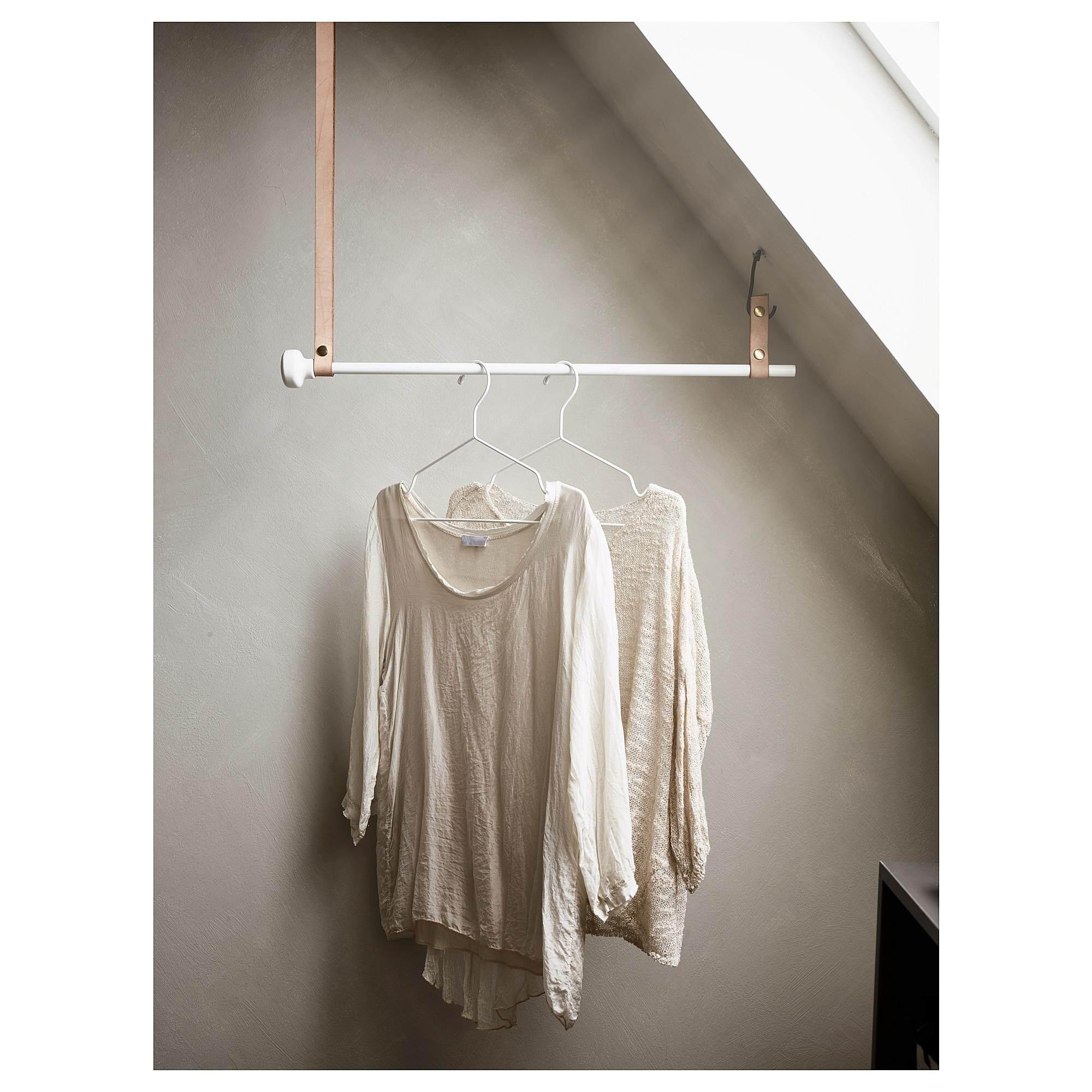 Stajlig สตัยลิก ไม้แขวนเสื้อ ภายใน/นอก ขาว By Vvs.