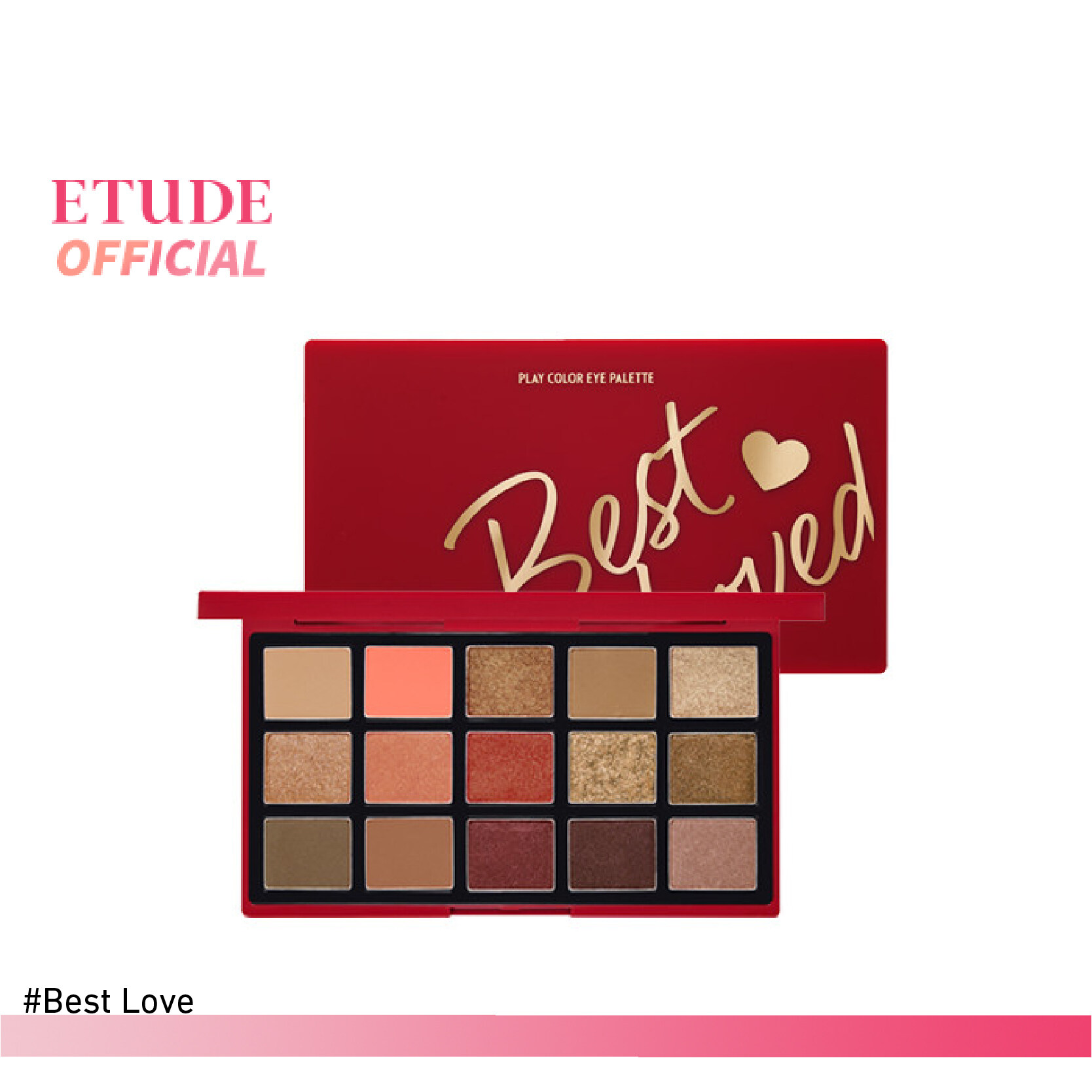 Etude Play Color Eye Palette Best Loved (1 G X 15 Colors).