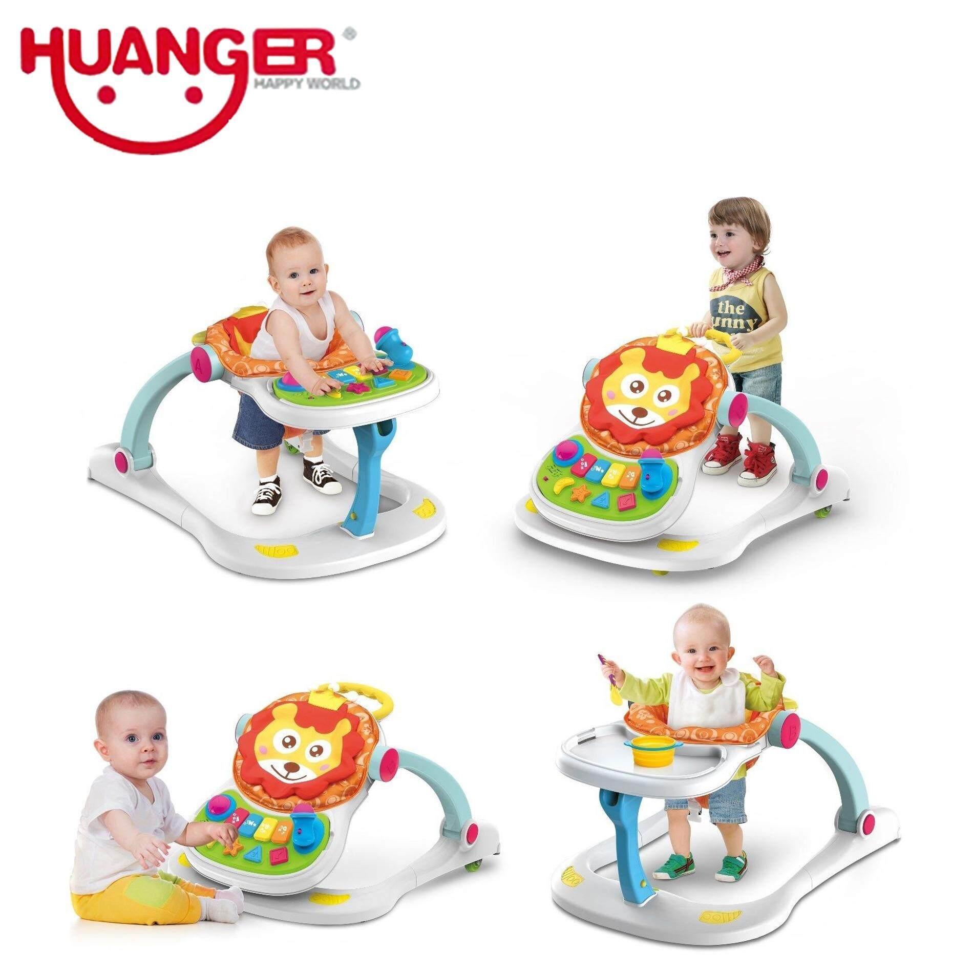 Huanger รถหัดเดินสิงโต 4 in 1  Lion entertainer walker 4 in 1