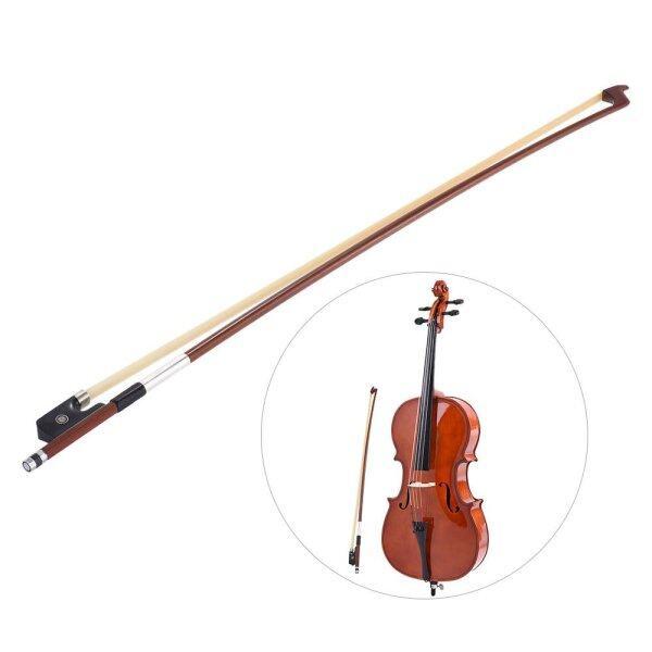 Gậy Tròn Lông Ngựa Hình Bát Giác Brazil Cân Bằng Tốt 4/4 Cello Ếch Gỗ Mun