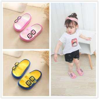 รองเท้าแตะเด็กหญิงกันลื่นรองเท้าแตะน่ารักใส่ออกนอกบ้าน Petpet รองเท้าแตะ 1-2 ปีเด็กทารกชายรองเท้าแตะฤดูร้อนเจ้าหญิง 3 ปี
