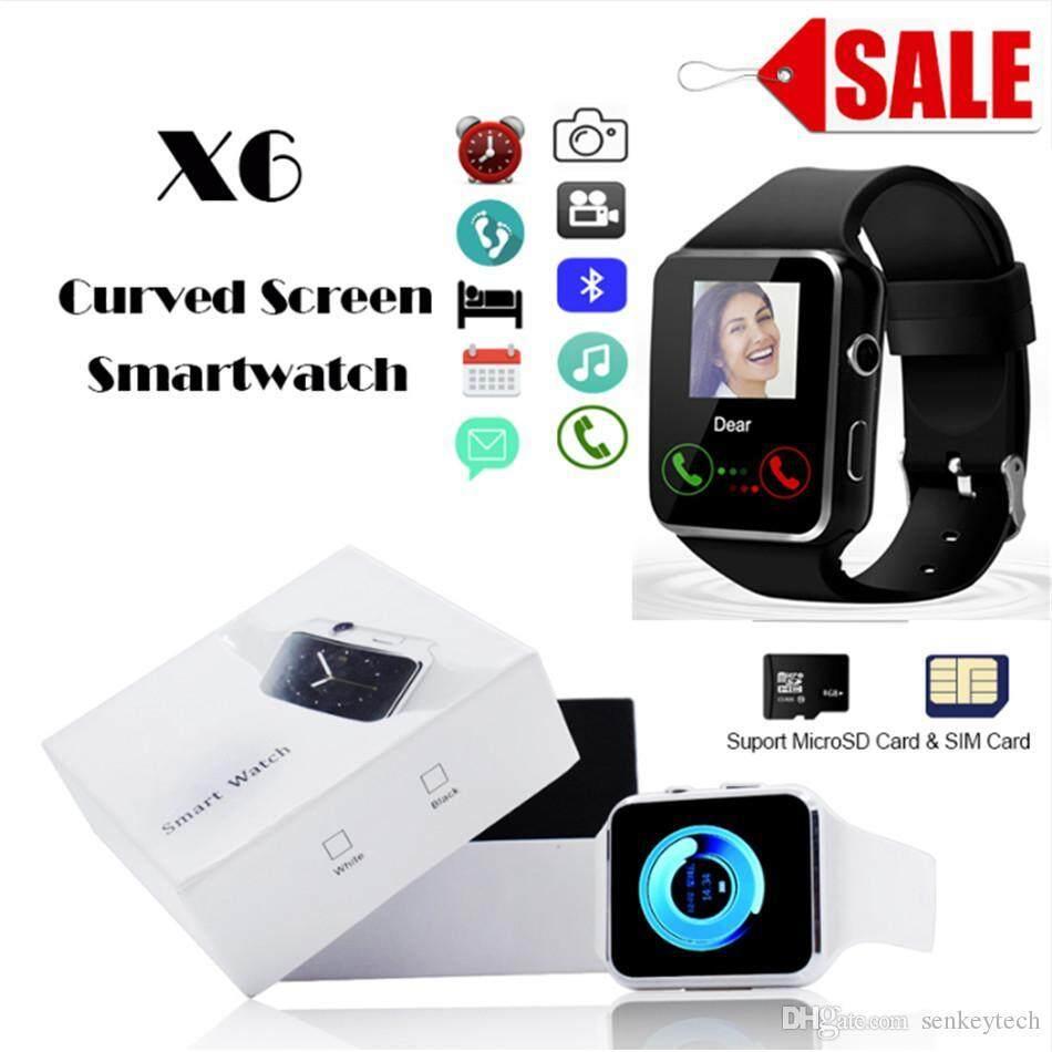 นาฬิกาโทรศัพท์ สวยงามที่สุด คุ้มราคาที่สุด ครบทุกฟังชั้น Bluetooth รุ่น X6.