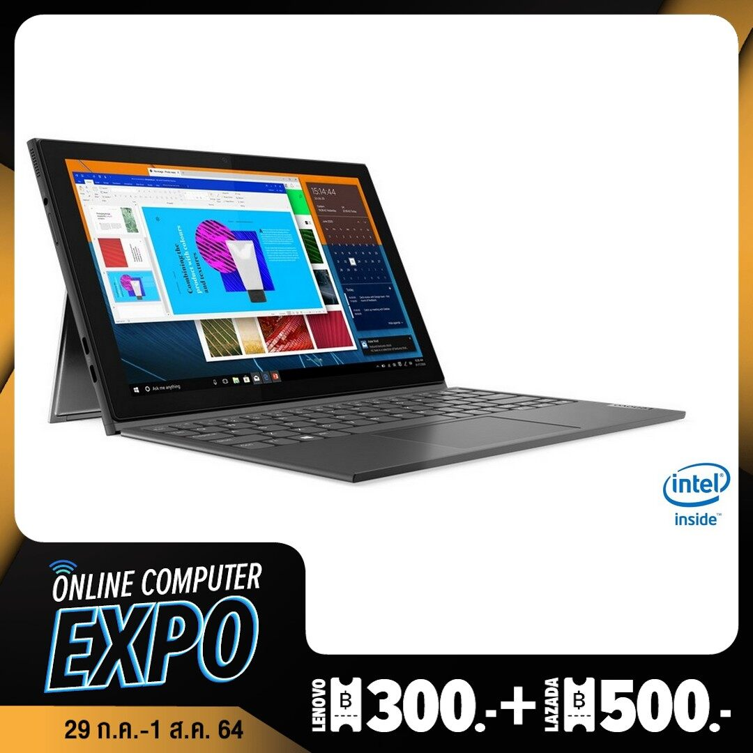 Notebook 2in1 Lenovo Ideapad Duet 3 With Activel Pen /intel Celeron N4020/4gb/64gb/10.3/w10 Pro/1y | 10igl5 (82at00data) Laptop 2 In 1.