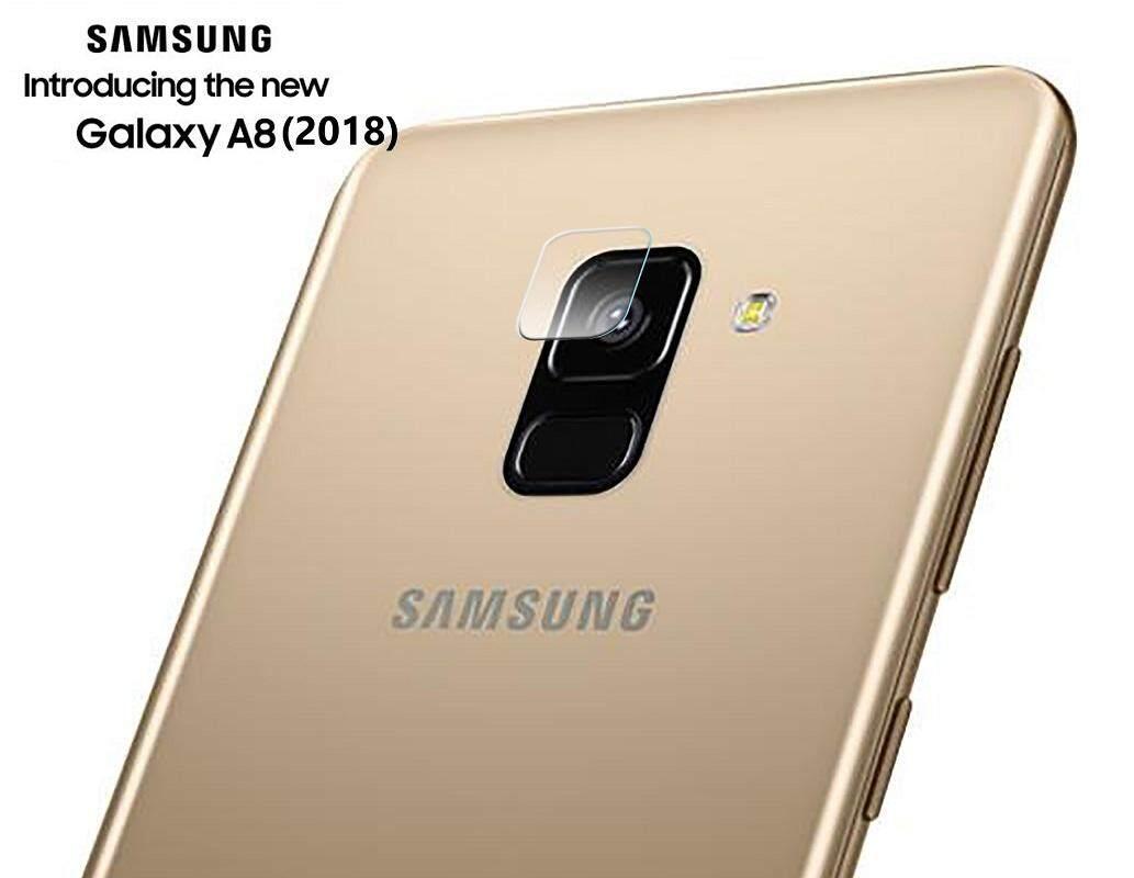 ฟิล์มกระจก นิรภัย กันรอยเลนส์กล้อง สำหรับ ซัมซุง เอ8 (2018) Lens Camera Protector For Samsung Galaxy A8 (2018) (5.6 ).