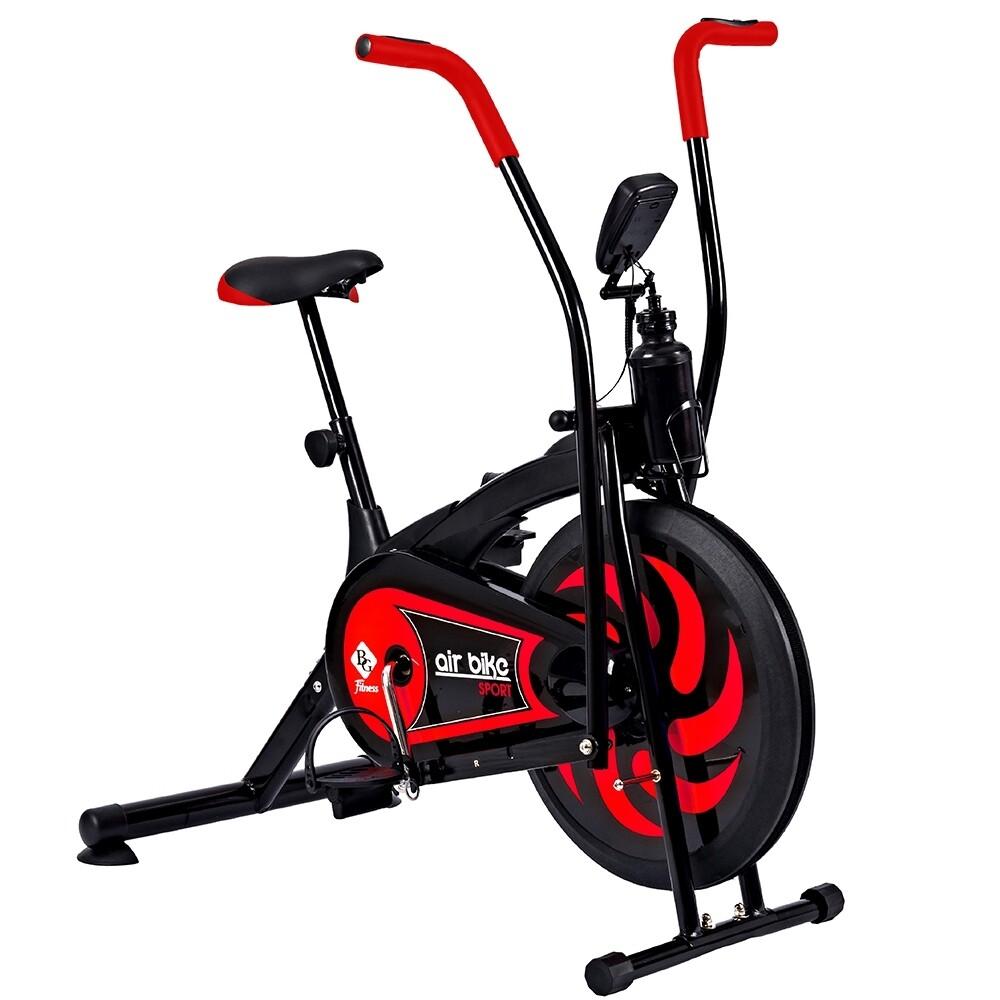 B&g จักรยานนั่งปั่นออกกำลังกาย จักรยานบริหาร จักรยาน จักรยานออกกำลังกาย เครื่องออกกำลังกาย ออกกำลังกาย อุปกรณ์ออกกำลังกาย Air Bike รุ่น Bg8701.