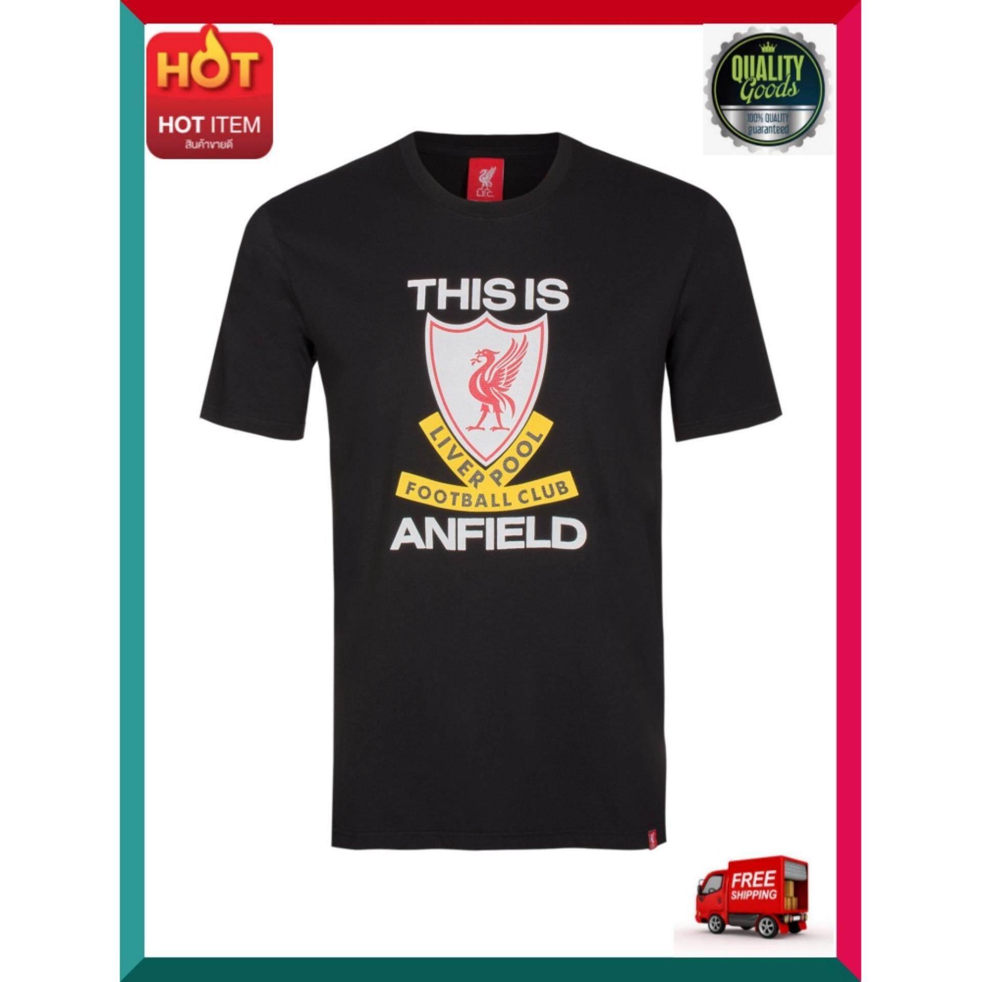 ด่วน ของมีจำนวนจำกัด Lfc เสื้อยืดผู้ชาย เสื้อฟุตบอล เสื้อทีมฟุตบอลลิเวอร์พูล รุ่น This Is Anfield Lfc Ss18m013ts ไซส์ Xl สีดำ โปรโมชั่นสุดคุ้ม โค้งสุดท้าย By Happy Mindset.