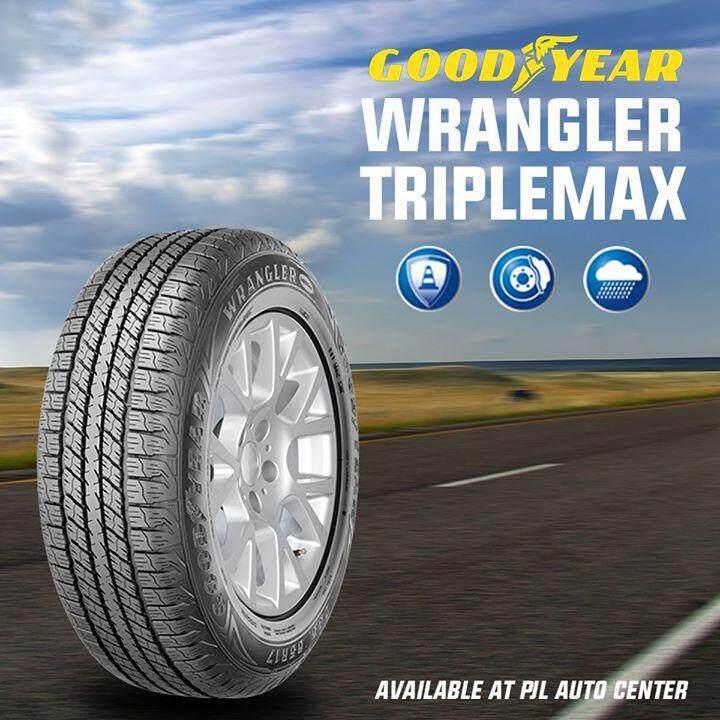 GOODYEAR ยางรถยนต์ 245/70R16 (ล้อขอบ16) รุ่น WRANGLER TRIPLEMAX 1 เส้น (ใหม่กริ๊ปปี2019)
