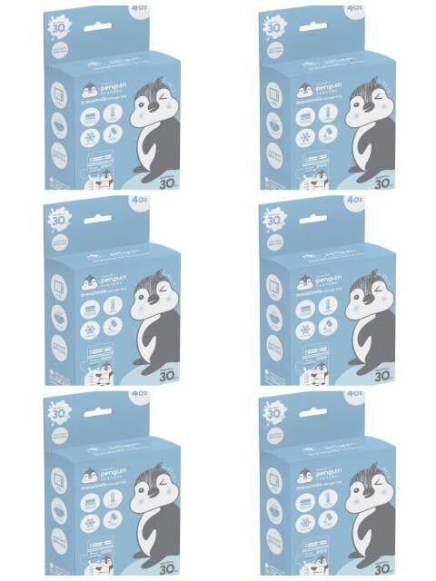 รีวิว ถุงเก็บน้ำนมอัจฉริยะ ขนาด 4 ออนซ์ ขนาด 30ถุง LittlePenquin 6 กล่อง (30*6)