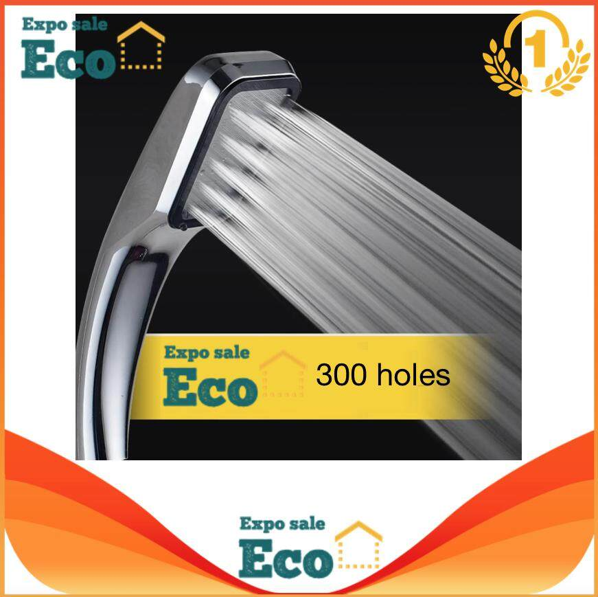 Eco Home Shower & Bath Shower Head หัวฝักบัวอาบน้ำแรงดันสูง ประหยัดน้ำ.