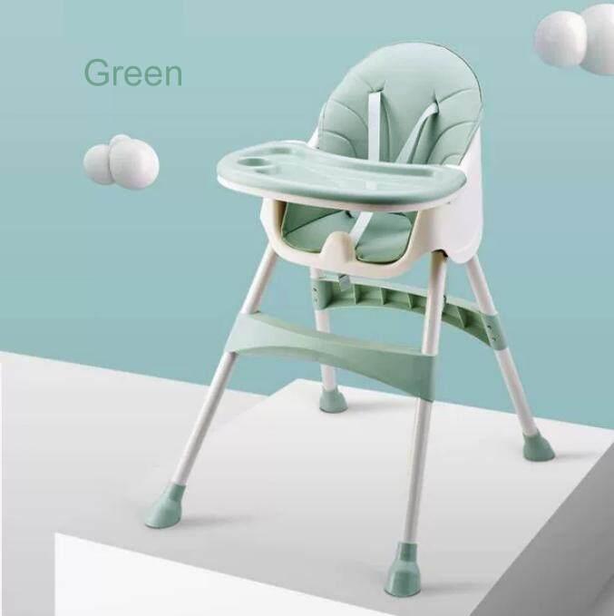 โปรโมชั่น เก้าอี้เด็กเอนกประสงค์ เก้าอี้กินข้าวเด็ก ปรับระดับได้ น้ำหนักเบา แข็งแรง