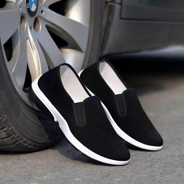 comfortable canvas shoes รองเท้าผ้าใบสวมง่ายๆ ใส่สบาย casual shoes