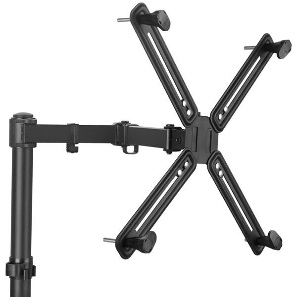 for VESA Mount Bracket Adapter Monitor Arm Mounting Kit for Screen 13 to 27 Inch, VESA 75mm and 100mm