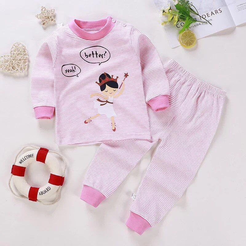 ไซส์ 50/73 (แรกเกิด-6เดือน) ชุดนอนเด็ก ชุดเด็กแรกเกิด.