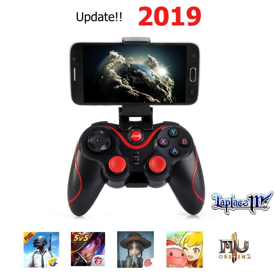จอยเกมมือถือ Terios New T3 S3  จอย Pc /จอยเกมคอม/ จอยไร้สาย /จอยบลูทูธ/จอยสติ๊กมือถือ/จอยมือถือ/จอยสติ๊ก/เล่นพับจีไม่ถูกแบน/จอยพับจี Rov Rom Laplacem สำหรับ Android.
