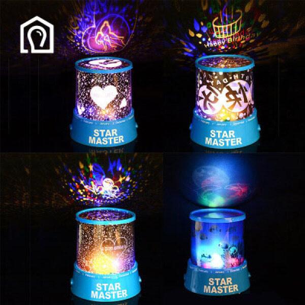 IHB037 Ánh sao, sáng tạo, lãng mạn, đầy sao, ánh sáng trong mơ, ngày lễ tình nhân, quà sinh nhật, gian hàng ánh sáng