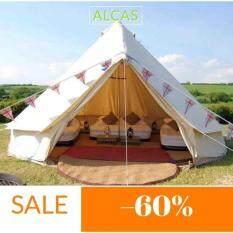 เต้นท์ (Bell tent) ขนาด 4x4 เมตร