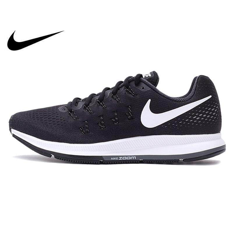 Nike_AIR ZOOM PEGASUS 33 zapatos transpirables para correr deporte zapatillas clásicas para correr al aire libre 831352- 001