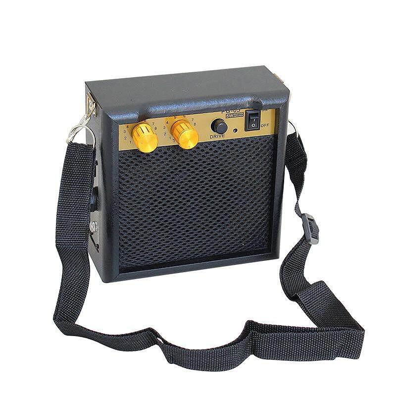 Kokko Pg-05 5W DC 9V Đàn Guitar Điện Khuếch Đại Loa Guitar Amp Có Dây Đeo Vai Cho Điện Acoustic phần Guitar