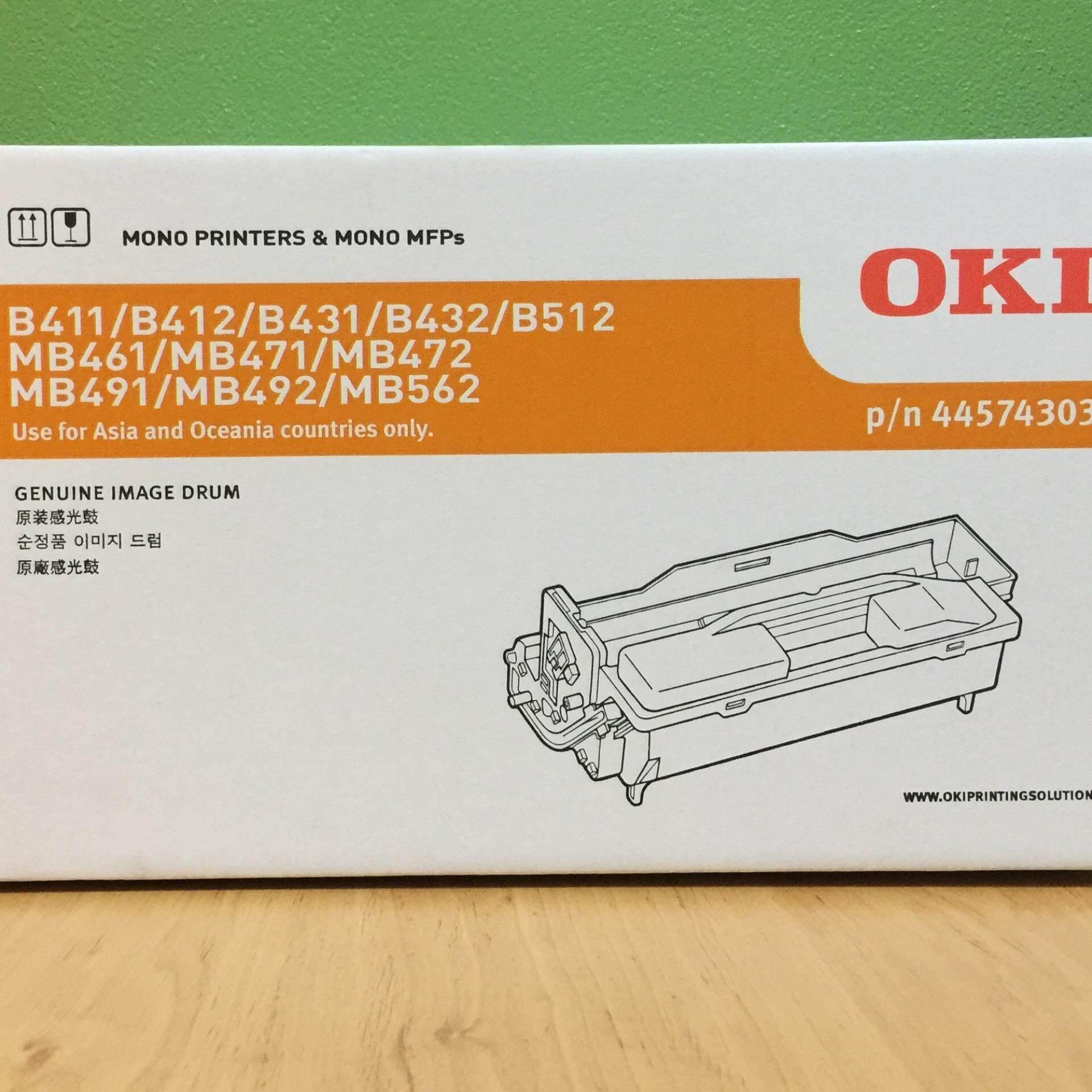 44574303 Oki Genuine Image Drum - B411/431/412 Mb472/492/b512 By Ink_printer07.