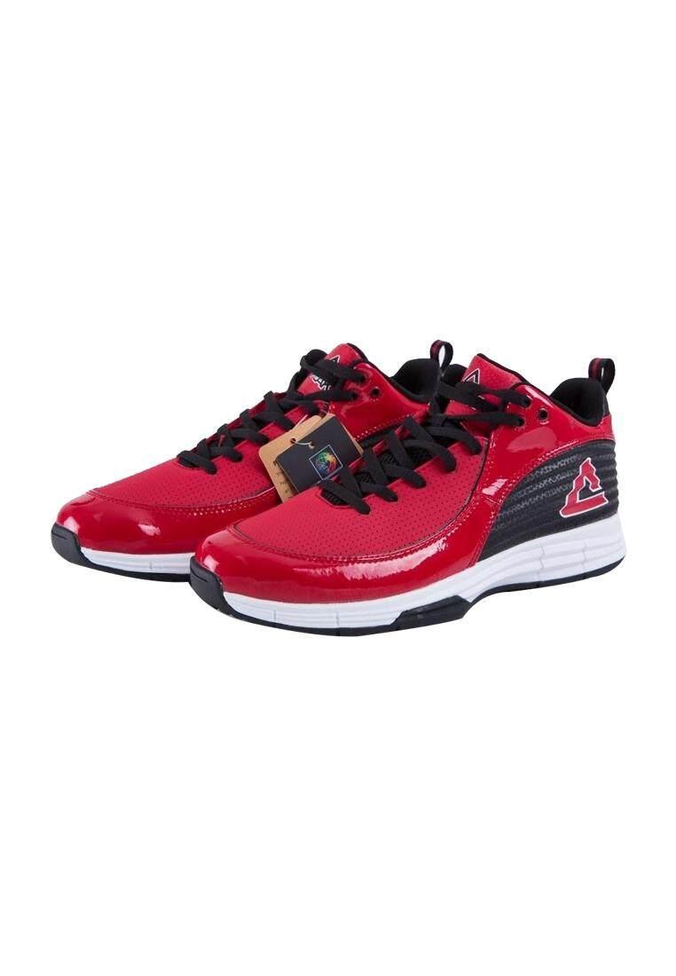 Image 5 for PEAK รองเท้า บาสเกตบอล Basketball shoes ทุกสภาพ สนาม พีค รุ่น E63141A - Red