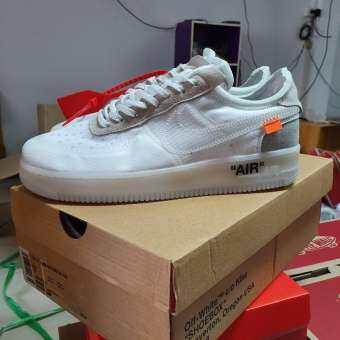 Nike air force 1 off white volt(PK) สีเจ็บมากๆ